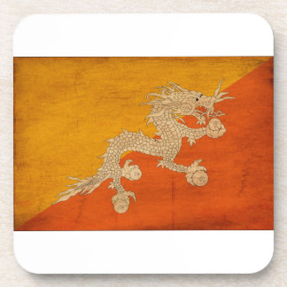 Bandera de Bhután Posavasos