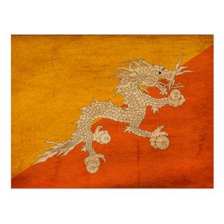 Bandera de Bhután Postal