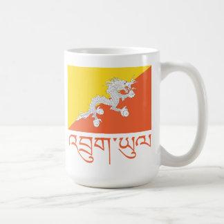 Bandera de Bhután Taza