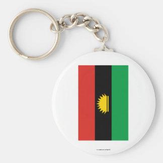 Bandera de Biafra (1967-1970) Llavero Redondo Tipo Pin
