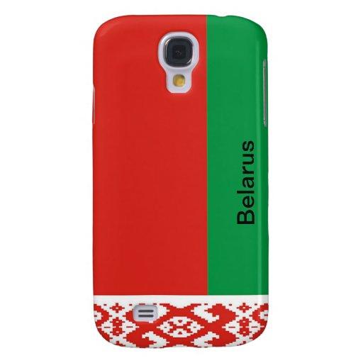 Bandera de Bielorrusia Funda Para Galaxy S4