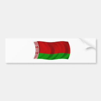 Bandera de Bielorrusia Pegatina Para Auto