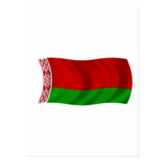 Bandera de Bielorrusia Postales