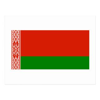 Bandera de Bielorrusia Tarjeta Postal