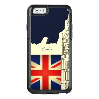 Bandera de Big Ben Union Jack de la ciudad de Funda Otterbox Para iPhone 6/6s
