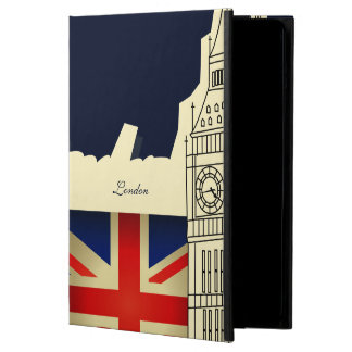 Bandera de Big Ben Union Jack de la ciudad de Lond