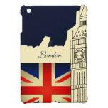 Bandera de Big Ben Union Jack de la ciudad de Lond iPad Mini Cobertura