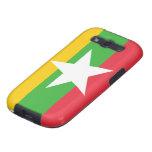 Bandera de Birmania Galaxy SIII Protector