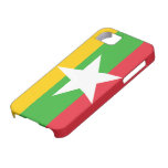 Bandera de Birmania iPhone 5 Case-Mate Cobertura