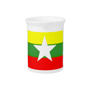 Bandera de Birmania Jarras