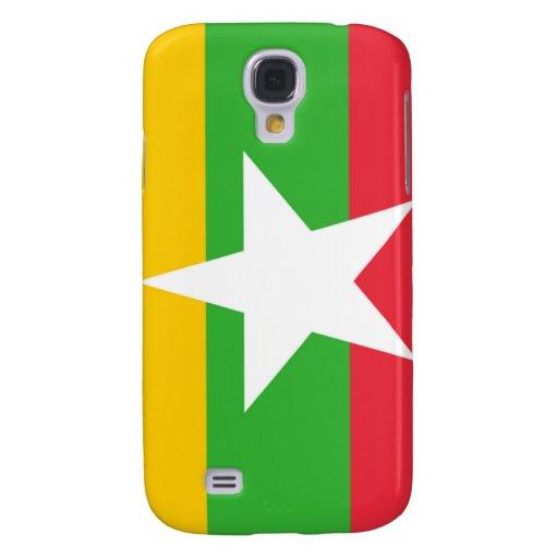 Bandera de Birmania Samsung Galaxy S4 Cover
