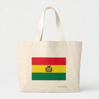 Bandera de Bolivia Bolsa Tela Grande