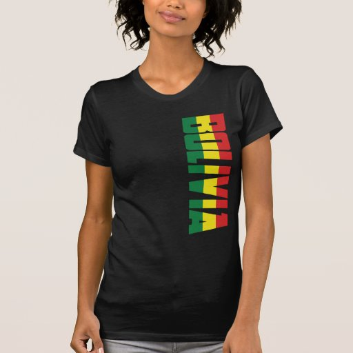 Bandera de Bolivia Camisetas