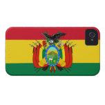 Bandera de Bolivia iPhone 4 Case-Mate Carcasas