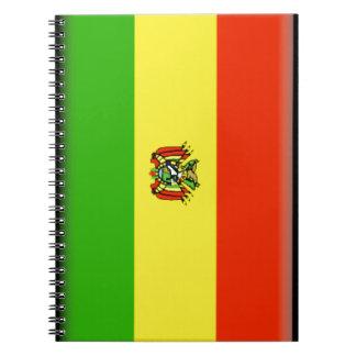 Bandera de Bolivia Libretas Espirales