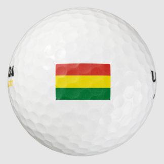 Bandera de Bolivia Pack De Pelotas De Golf
