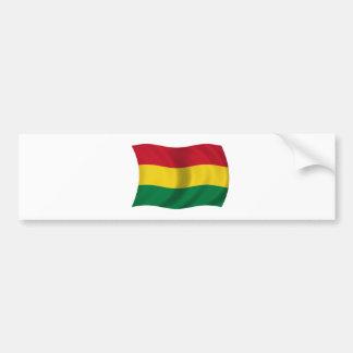 Bandera de Bolivia Pegatina Para Auto