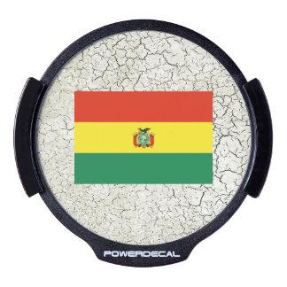 Bandera de Bolivia Sticker LED Para Ventana
