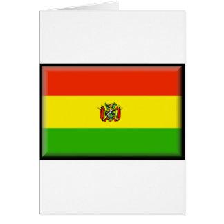 Bandera de Bolivia Tarjeton