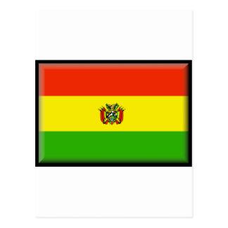 Bandera de Bolivia Tarjetas Postales