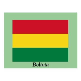 Bandera de Bolivia Postal
