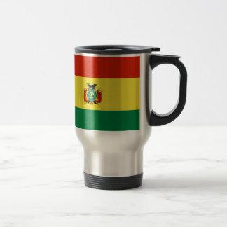 Bandera de Bolivia Taza De Viaje