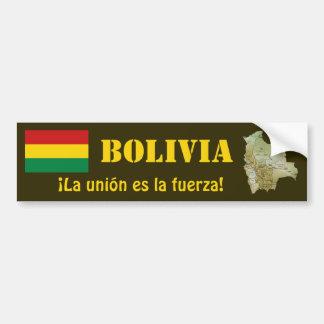 Bandera de Bolivia y pegatina para el parachoques  Pegatina Para Auto