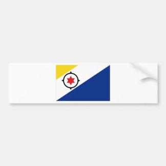 Bandera de Bonaire Pegatina De Parachoque