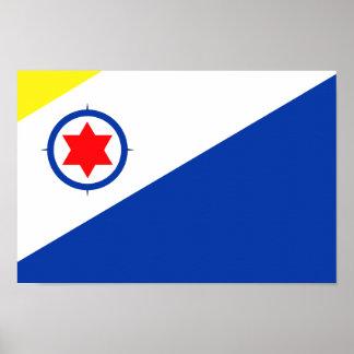 Bandera de Bonaire Póster