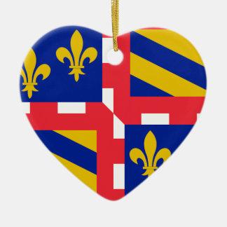 Bandera de Borgoña (Francia) Ornatos