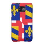 Bandera de Borgoña (Francia) Samsung Galaxy SII Carcasa