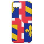 Bandera de Borgoña (Francia) iPhone 5 Case-Mate Protectores