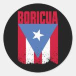 Bandera de Boricua Pegatinas