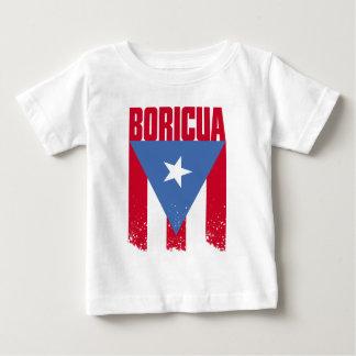 Bandera de Boricua Playera De Bebé