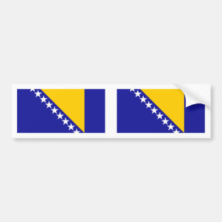 Bandera de Bosnia Etiqueta De Parachoque