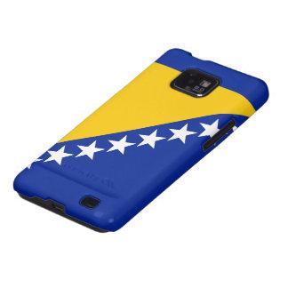 Bandera de Bosnia Samsung Galaxy S2 Carcasas