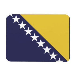 Bandera de Bosnia-Herzgovina Imanes Rectangulares