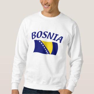 Bandera de Bosnia Pulovers Sudaderas