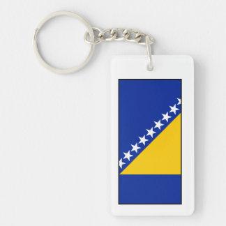 Bandera de Bosnia y de Herzegovina Llavero