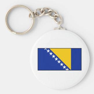 Bandera de Bosnia y de Herzegovina Llaveros Personalizados