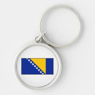 Bandera de Bosnia y de Herzegovina Llaveros
