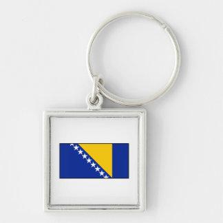 Bandera de Bosnia y de Herzegovina Llavero Personalizado