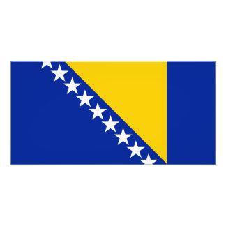 Bandera de Bosnia y de Herzegovina Impresiones Fotograficas