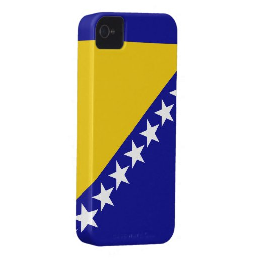 Bandera de Bosnia y Hercegovina Carcasa Para iPhone 4
