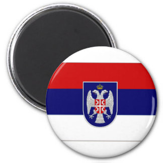 Bandera de Bosnia y Hercegovina el República Serbi Imán Redondo 5 Cm