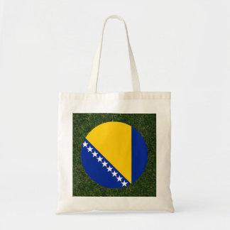 Bandera de Bosnia y Hercegovina en hierba Bolsa Tela Barata