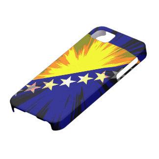 Bandera de Bosnia y Hercegovina Funda Para iPhone 5 Barely There