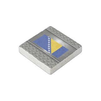Bandera de Bosnia y Hercegovina Imán De Piedra