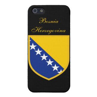 Bandera de Bosnia y Hercegovina iPhone 5 Carcasa