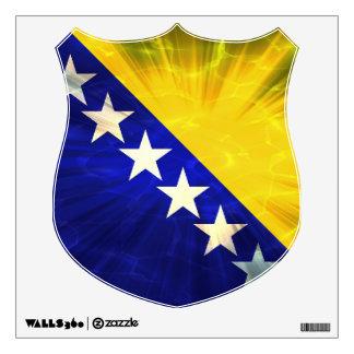 Bandera de Bosnia y Hercegovina Vinilo
